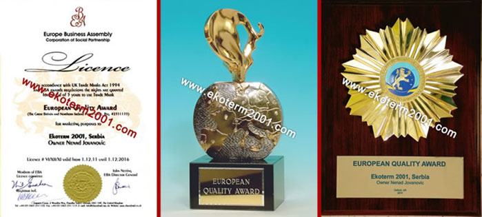 European Quality Award Oxford - 2011